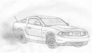 Image Gallery 2014 mustang drawing