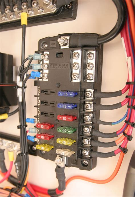 Blue Sea Systems Blade Fuse Block Circuits With