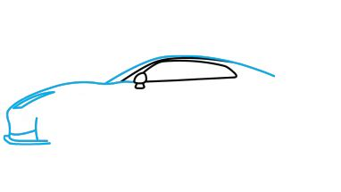 nissan skyline drawing step by step how to draw nissan gtr a car easy step by step drawing