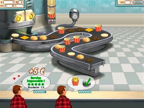 jeu de cuisine hamburger jeu burger shop à télécharger en français gratuit jouer