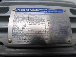 Leland Faraday M 460v 3ph