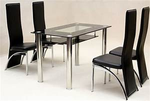 Small rectangular glass dining table good dining room for Small rectangle glass dining table