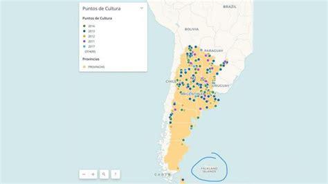 El Gobierno llamó Falkland Islands a las Islas Malvinas