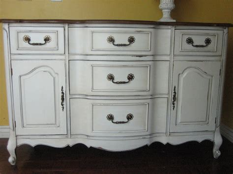 Repurposed Sideboard by European Paint Finishes Another Bowed Buffet