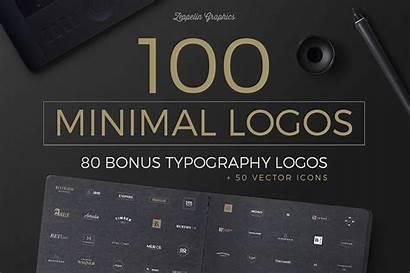 Logos Minimal Modern Bonus Templates Behance 1300