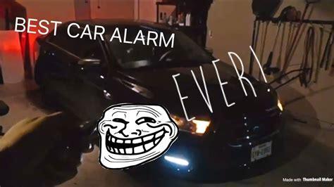 car alarm youtube