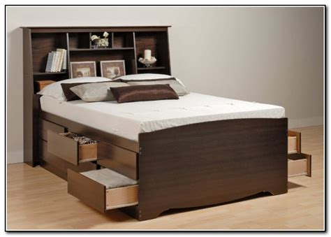 bed with drawers underneath bed frames with drawers underneath beds home