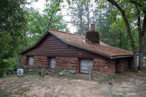 bastrop state park cabin  william  travis texas parks wildlife department