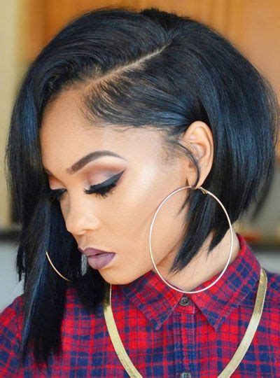 Sew In Bob Hairstyles by 25 Side Part Sew In Styles And How To Sew In Tutorial