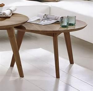 Tisch Rund 70 Cm : sam tisch couchtisch 70 cm rund massivholz wildeiche olpe ~ Bigdaddyawards.com Haus und Dekorationen