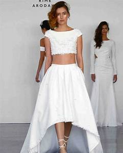 28 two piece wedding dresses martha stewart weddings With two piece dresses for weddings