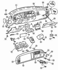 2001 Dodge Ram 2500 Bezel  Instrument Cluster  Trim   All