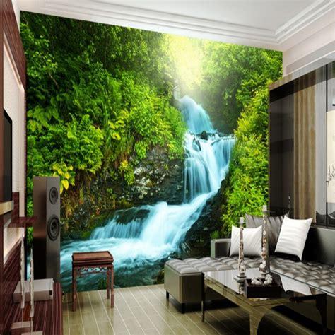 Beibehang Custom Nature Wallpaper 3d Stereoscopic 3d Photo