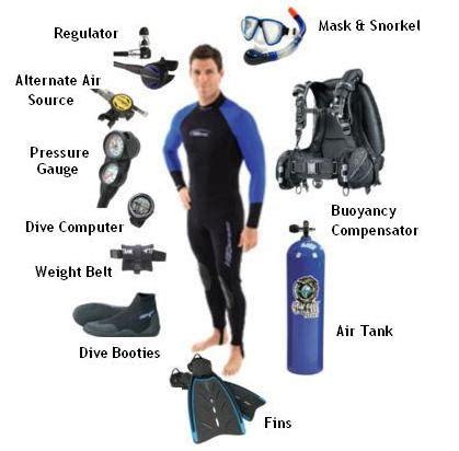 diving equipment sentinel divers dive  pattaya thailand