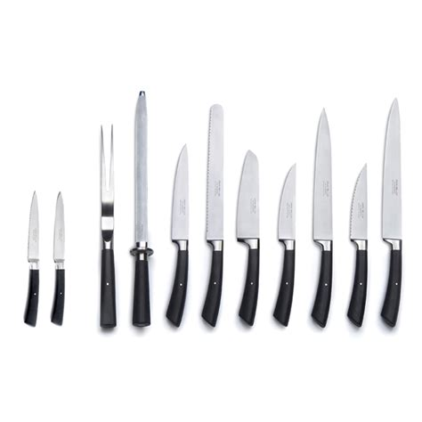 Kitchen Knives And Their Uses by David Mellor Kitchen Knives Black Handle Abode New York