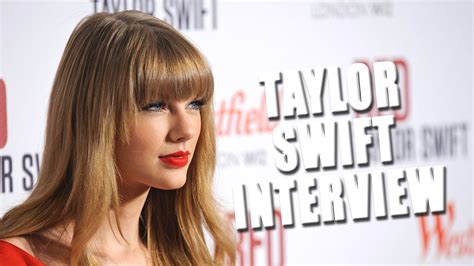 Taylor Swift Interview: 'Love Is a Ruthless Game' - YouTube