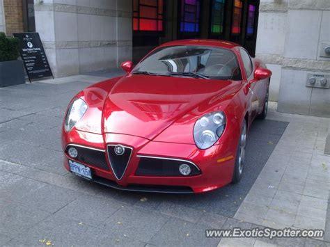 Alfa Romeo 8c Spotted In Toronto, Canada On 11/07/2012