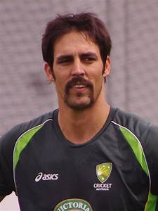 Mitchell Johnson (cricketer) - Wikipedia