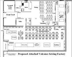 factory floor plan aimer fashion factory floor plan architectural Industrial