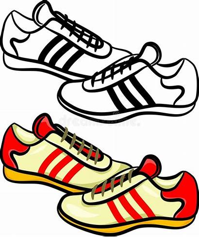Trainers Mens Illustration Royalty