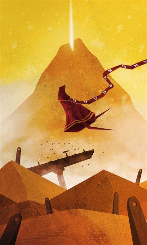 Journey Fan Art Created By Tacosauceninja Video Game