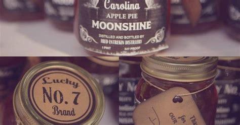 Apple Pie Moonshine Wedding Favors Someday Wedding