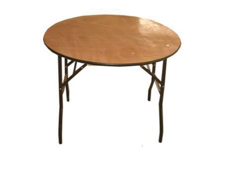 3 Foot Round Table Oxford Marquees