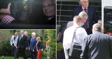 clifford funeral home handcuffed max clifford let out of prison to attend