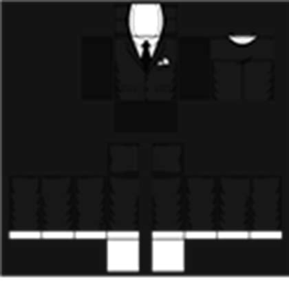 roblox suit template black suit template roblox