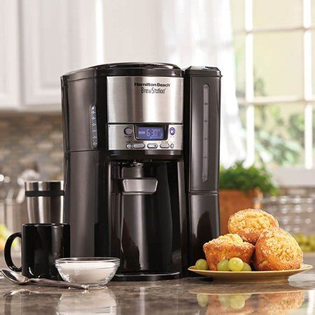 Hamilton beach commercial® coffee urns are exceptionally easy to use and clean. Hamilton Beach BrewStation 12 Cup Coffee Maker with Internal Heating, Black   Walmart Canada
