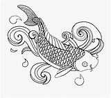 Fish Coloring Printable Colouring Adults Cartoon Netclipart sketch template
