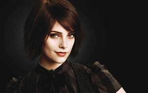 brunettes women twilight short hair ashley greene golden ...