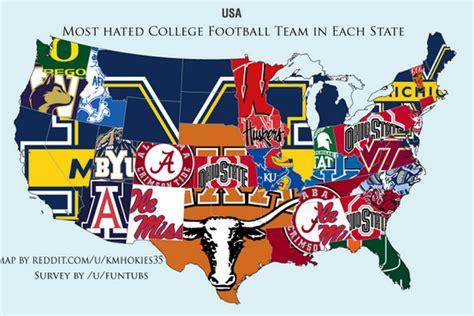reddit survey shows  college football programs