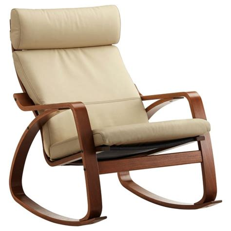 ikea rocking chair leather