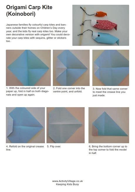 origami carp kite 668 | origami carp kite instructions 460