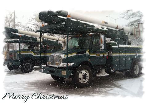 tnt holiday  utility company christmas cards