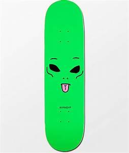 RIPNDIP We Out Here 825quot Skateboard Deck Zumiez