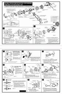 Yale 4600ln Lever Lock Installation Instructions 5 12