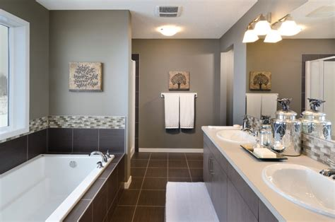 the showhome calgary alberta contemporary bathroom
