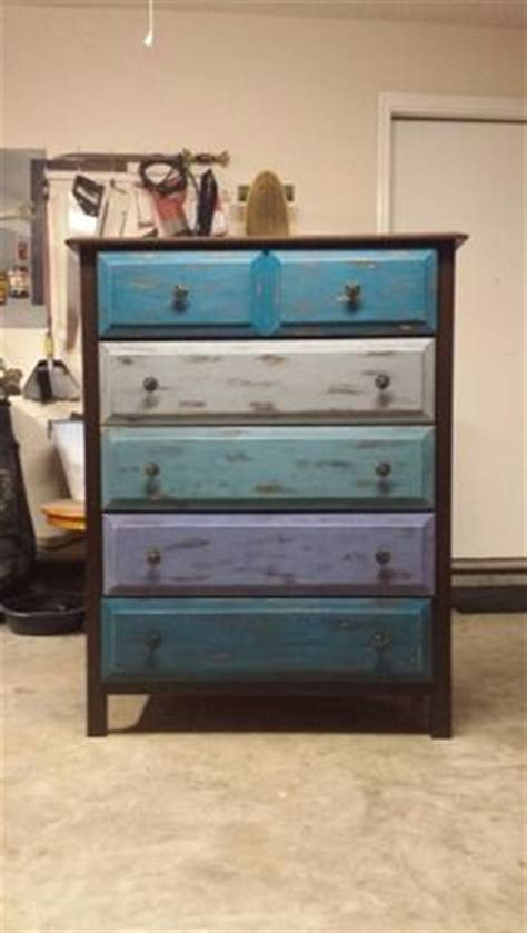multi colored dresser 6 drawer dresser beautifully distressed multi colored