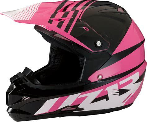 pink motocross helmet z1r womens roost se dirt bike off road motorcycle helmet