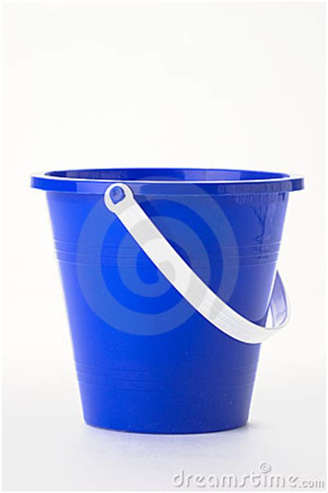 blue pail royalty  stock images image