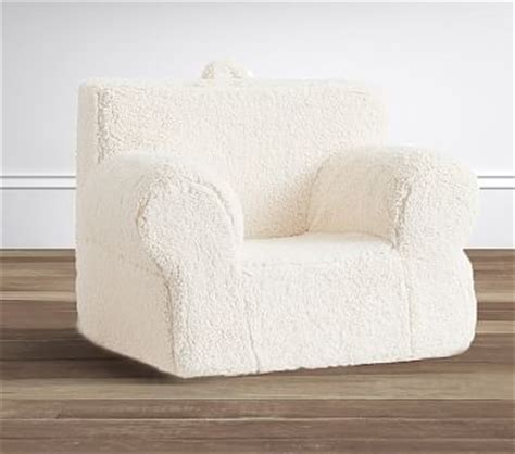 oversized anywhere chair slipcover only oversized sherpa anywhere chair pottery barn