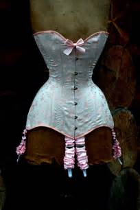 Handmade Baby Pink Edwardian Corset perfect lingerie set For Boudoir and Wedding