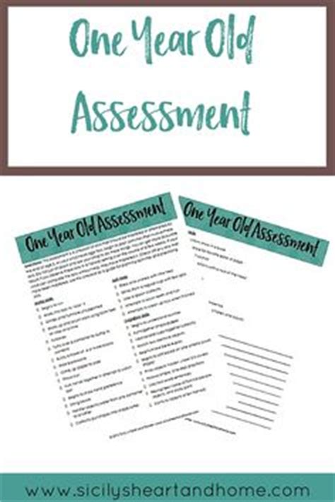 assessment 2 year page 1 of 3 assessment ideas 669 | 51edc4909fe911f5ad0f400798416d97