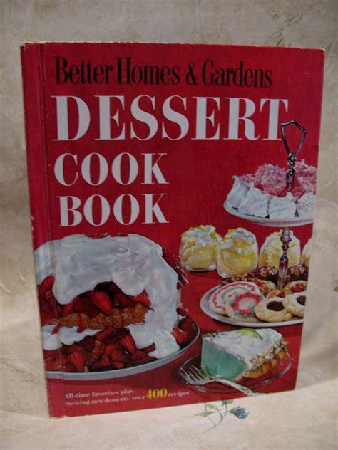 vintage dessert cookbook better homes gardens recipes