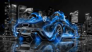 Cars - McLaren P1 - McLaren-P1-Blue-Fire-City-Car-2013 ...