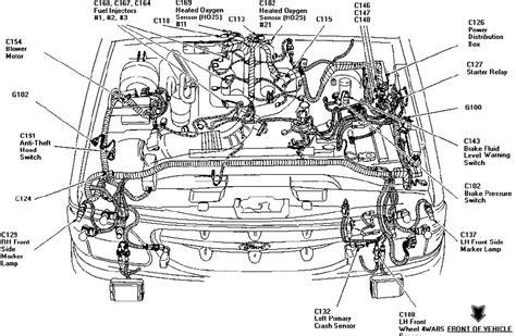 98 Explorer Engine Diagram by I A 1998 Ford Explorer All Lights Work But