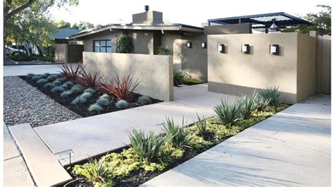 Modern Front Yard Designs And Ideas