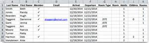 To Do List Template Excel Faq How Should My Rooming List File Be Set Up
